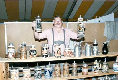 Steins anyone?  (Are they full?)